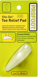 toe relief pad